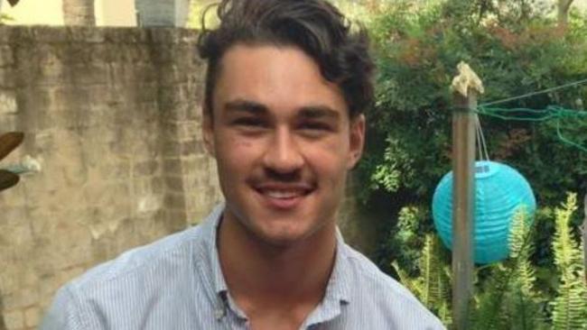 Carl Salomon, 19, died this morning at Balmain. Picture: Facebook