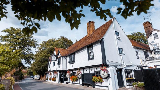 4/10The oldest hotel in England: The Olde Bell Coaching Inn, Berkshire You know you've got some serious miles on the clock when you qualify for a superfluous 'e' in old. It harks back 1135 and Winston Churchill and Dwight D Eisenhower met here during WWII. They had the veal.