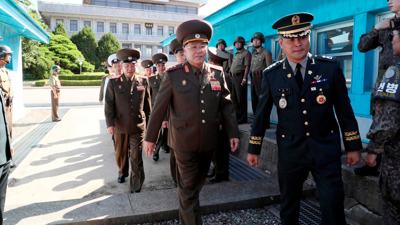 Top security officials to form South Korea's delegation to Pyongyang