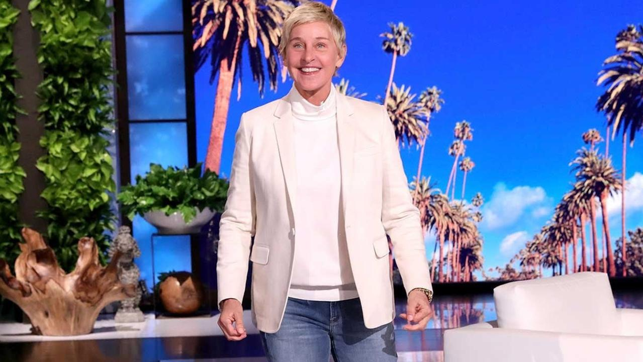 Ellen DeGeneres addresses the toxic workplace scandal on her show. Picture: YouTube