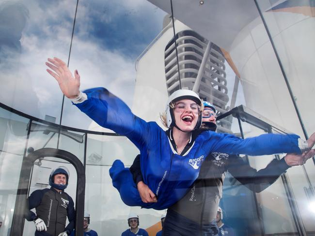 iFly lets you experience skydiving without jumping out of a plane.