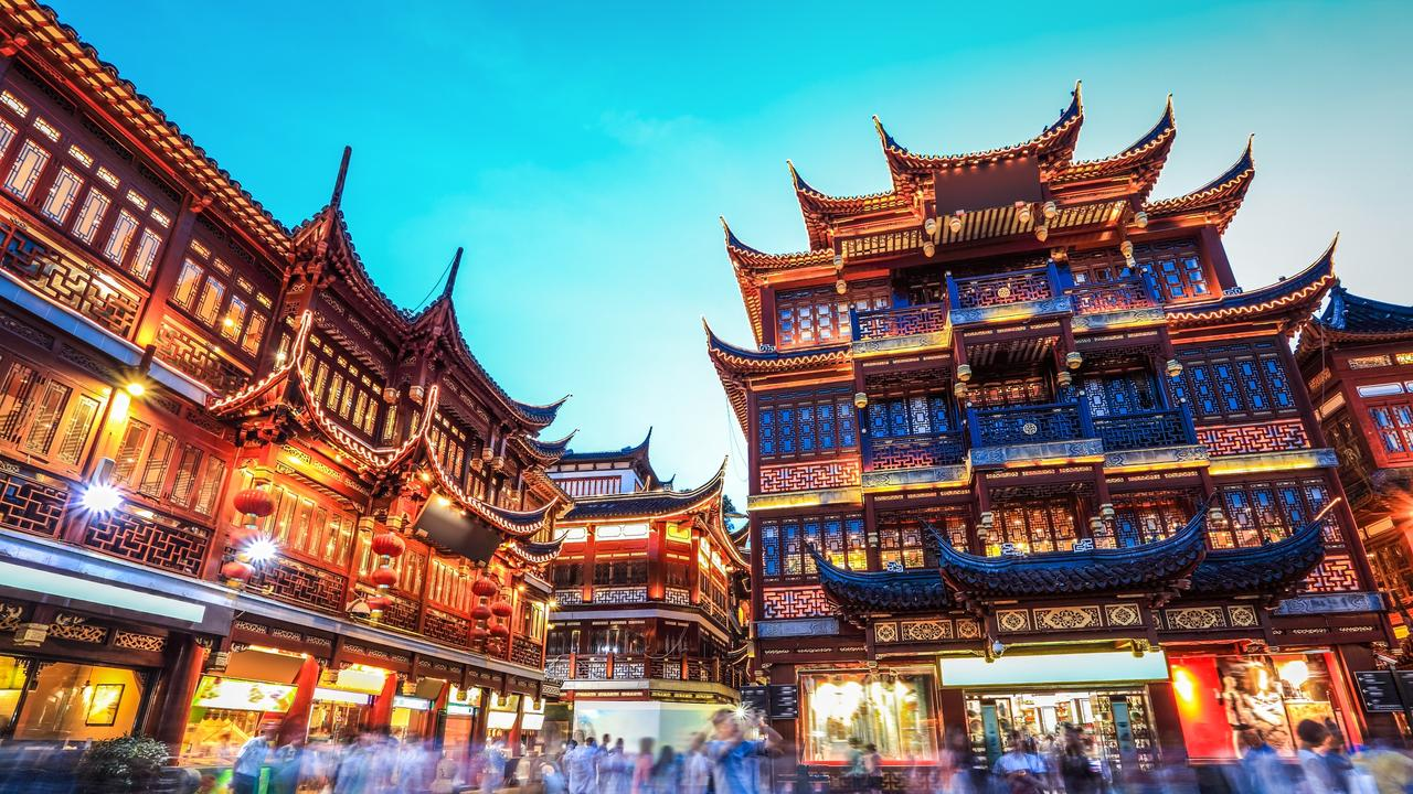 ESCAPE: PUDONG_SHANGHAI, Sarah Nicholson- 3MAR19- beautiful yuyuan garden at night,traditional shopping area in shanghai, China. Picture: iStock