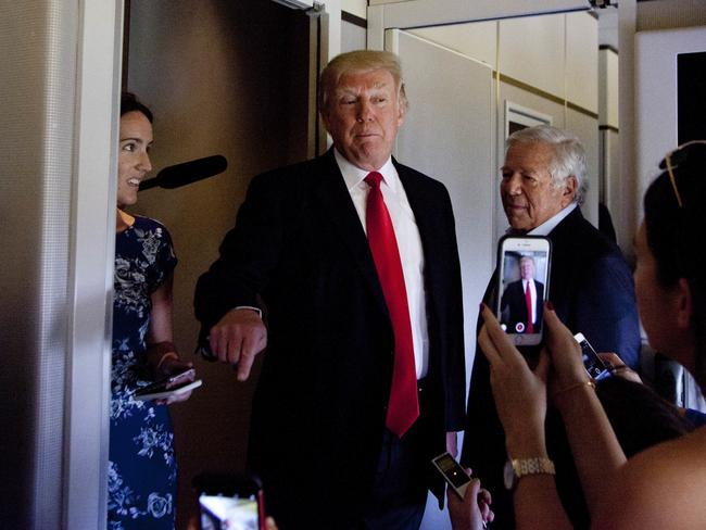 The deal was struck with the Obama administration and will reluctantly be honoured by new US President Donald Trump. Picture: AP.