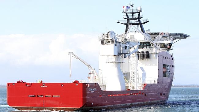 A team of Australian air crash investigators will board the Royal Australian Navy vessel Ocean Shield when it docks in Perth in the coming days.