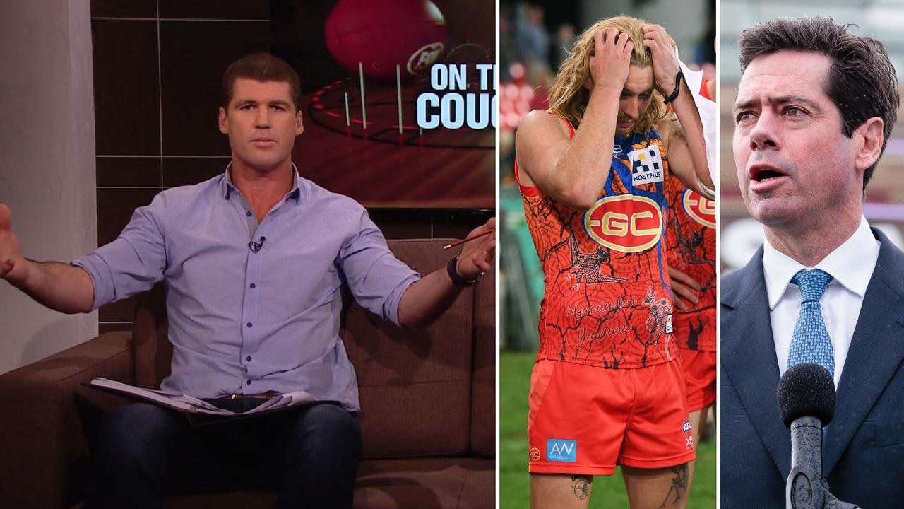 AFL 2019: Full transcript as Jonathan Brown calls for AFL to stand up, seriously assist 'worse than state league' Gold Coast Suns