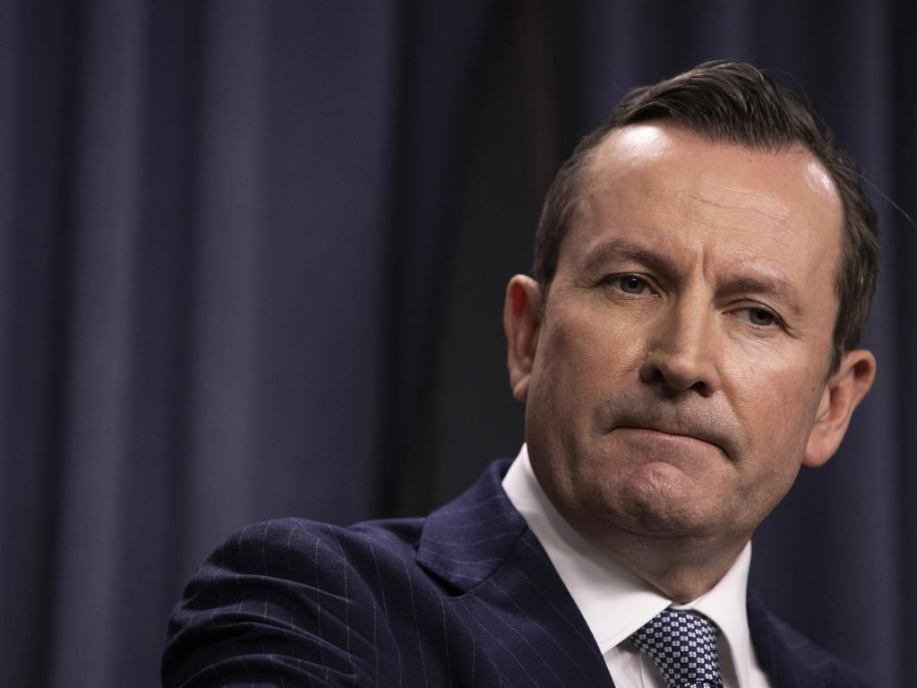 Premier Mark McGowan announced the changes on Friday. Picture: Matt Jelonek/Getty Images