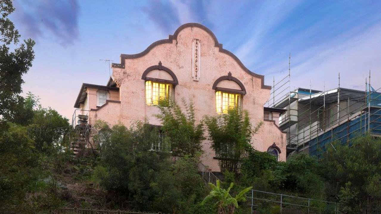 18 Victoria Terrace, Bowen Hills, has 8 flats, with 8 bedrooms, 8 bathrooms on an 819sq m block. Picture: Realestate.com.au