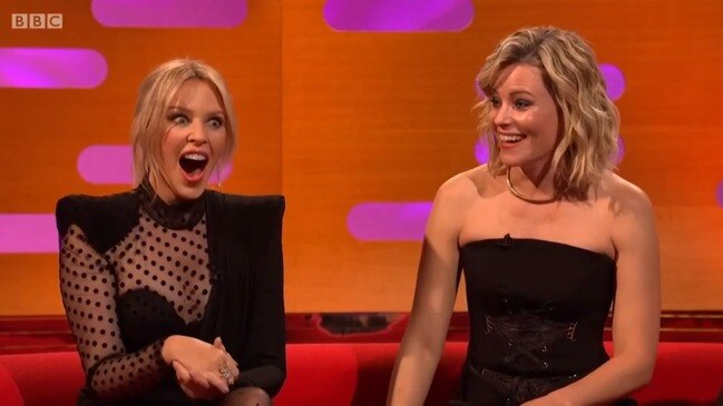 Elizabeth Banks stuns celeb TV guests with Prince Andrew joke (The Graham Norton Show)