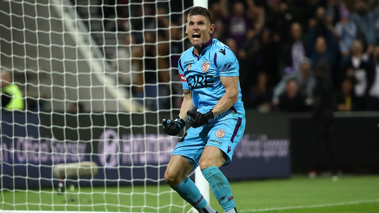 Liam Reddy put in a heroic performance for Perth Glory in their semi-final win over Adelaide United.