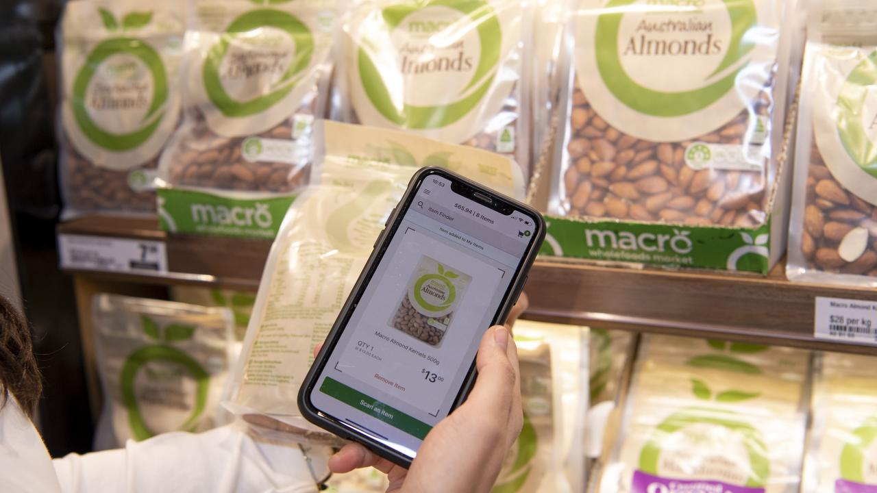 Consumers can monitor their shopping bill as they go.