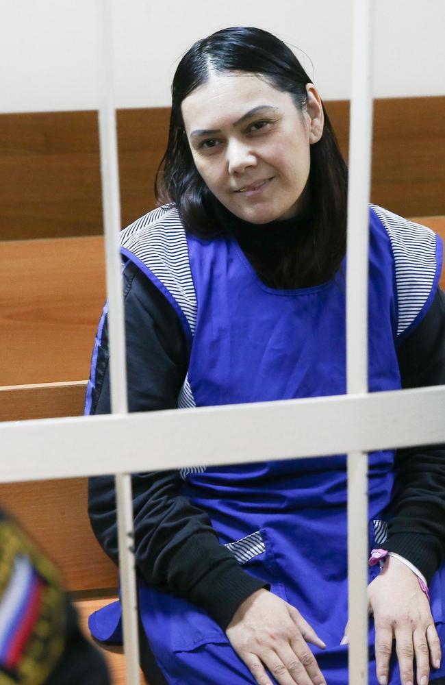 Gyulchekhra Bobokulova ahead of her hearing.