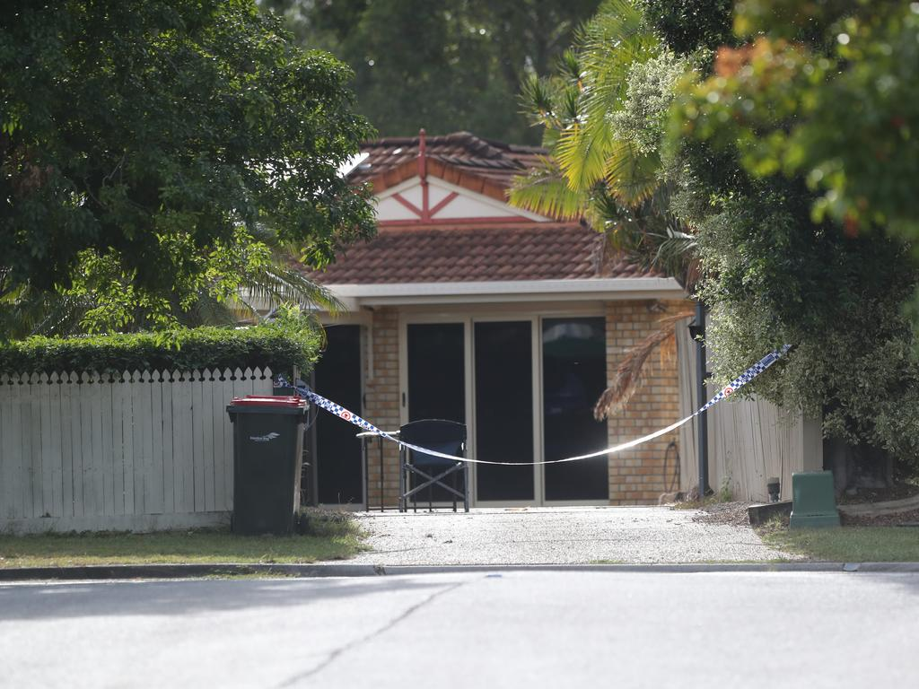 A lady was found murdered at a Brisbane home yesterday.