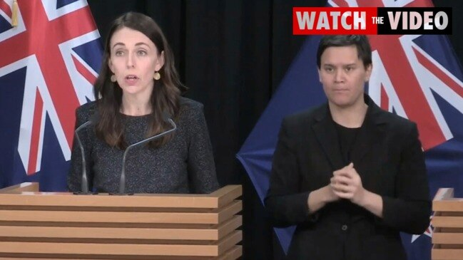 Prime Minister Jacinda Ardern announces four new coronavirus cases in NZ