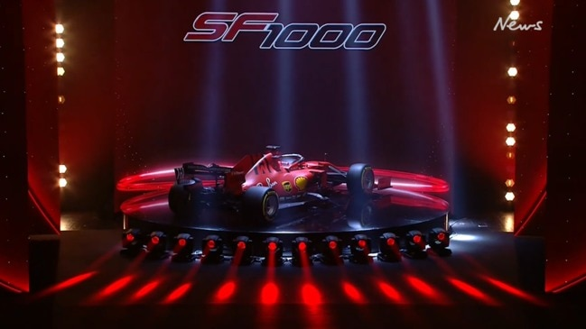 Ferrari unveils 2020 F1 car in dramatic style at SF1000 launch
