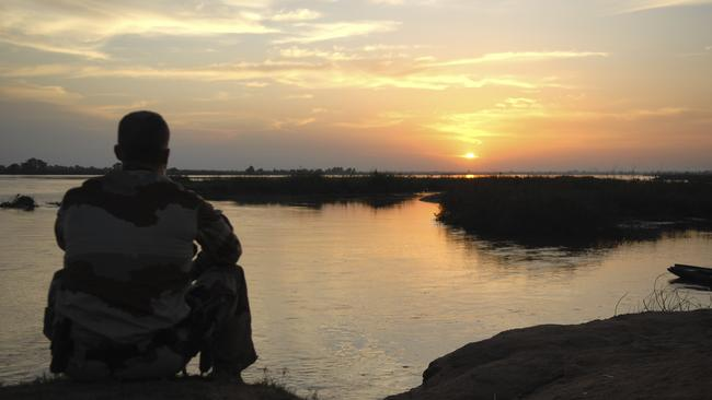 soldier, One of the men, who does not want to be named so we will call him 'John', wrote a lengthy and moving account of his experiences sunset.