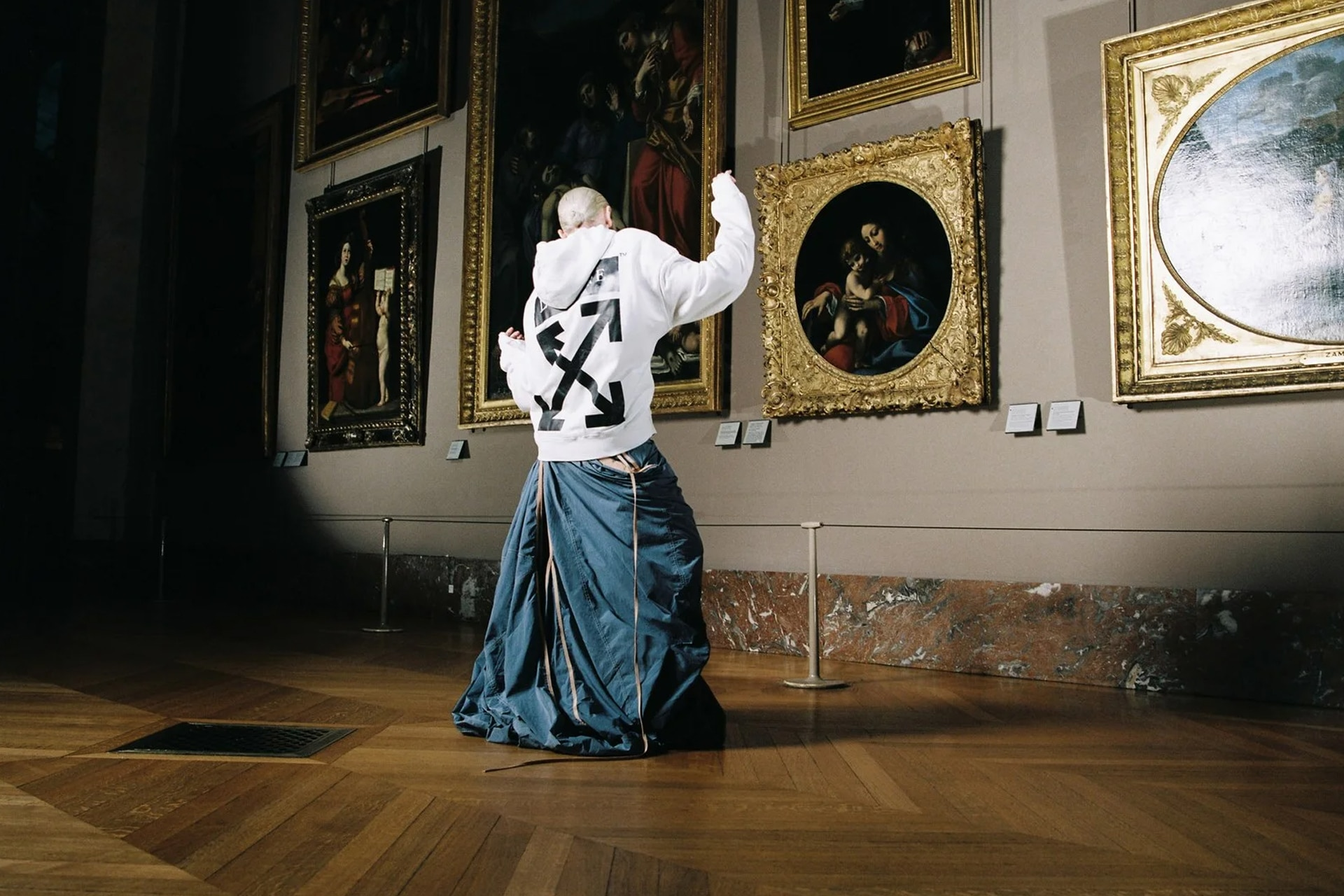 Off-White And The Louvre Are Paying Tribute To Da Vinci With A Capsule Collection