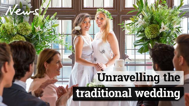 Unravelling the traditional wedding