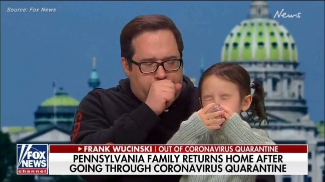 Man who was quarantined for coronavirus can't stop coughing