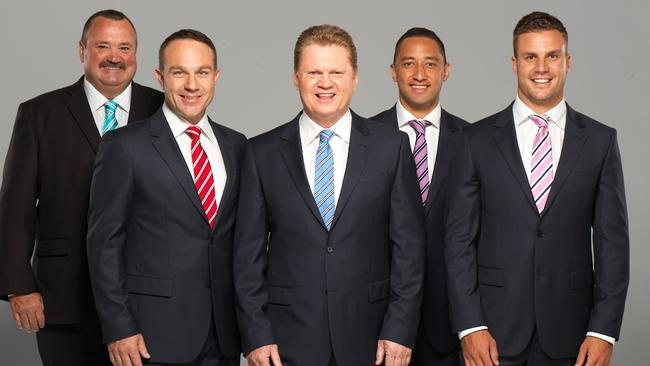 Michael Slater has the rare privilege of hosting both The Cricket Show and (the NRL version of) The Footy Show. He has no idea how either show got its name.