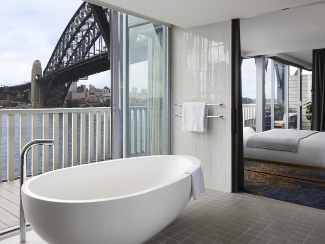 PIER ONE SYDNEY HARBOUR  Pier One Sydney Harbour, the stunning heritage hotel in the shadow of Sydney Harbour Bridge, has reopened to guests, with enticing discounted rates. Your furry is welcome here too.
