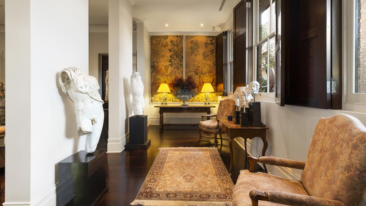 The four-bedroom house is on the market with a $10m price tag.