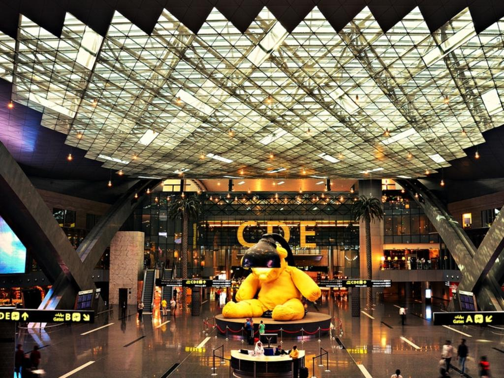 Hamad International Airport in Doha has been named the world's best airport in 2021.
