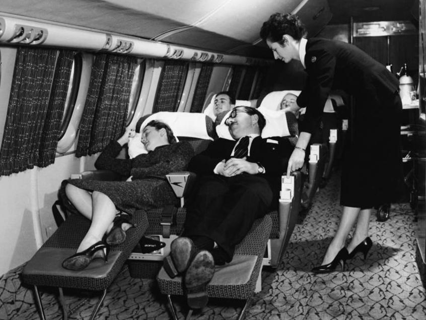 What flying was like in the 1950s and 1960s compared to now | escape