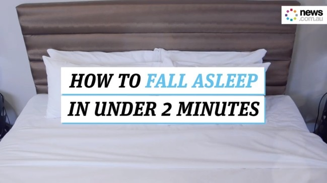 How to fall asleep in under 2 minutes