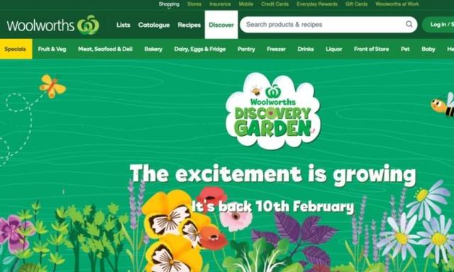 Woolworths Discovery Garden 2021: Popular promotion set to return in February
