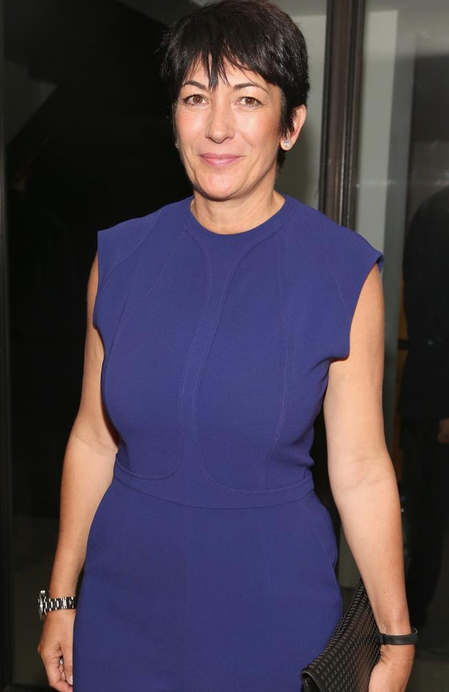 Accused sex trafficker Ghislaine Maxwell. Picture: Sylvain Gaboury/Patrick McMullan/Getty Images