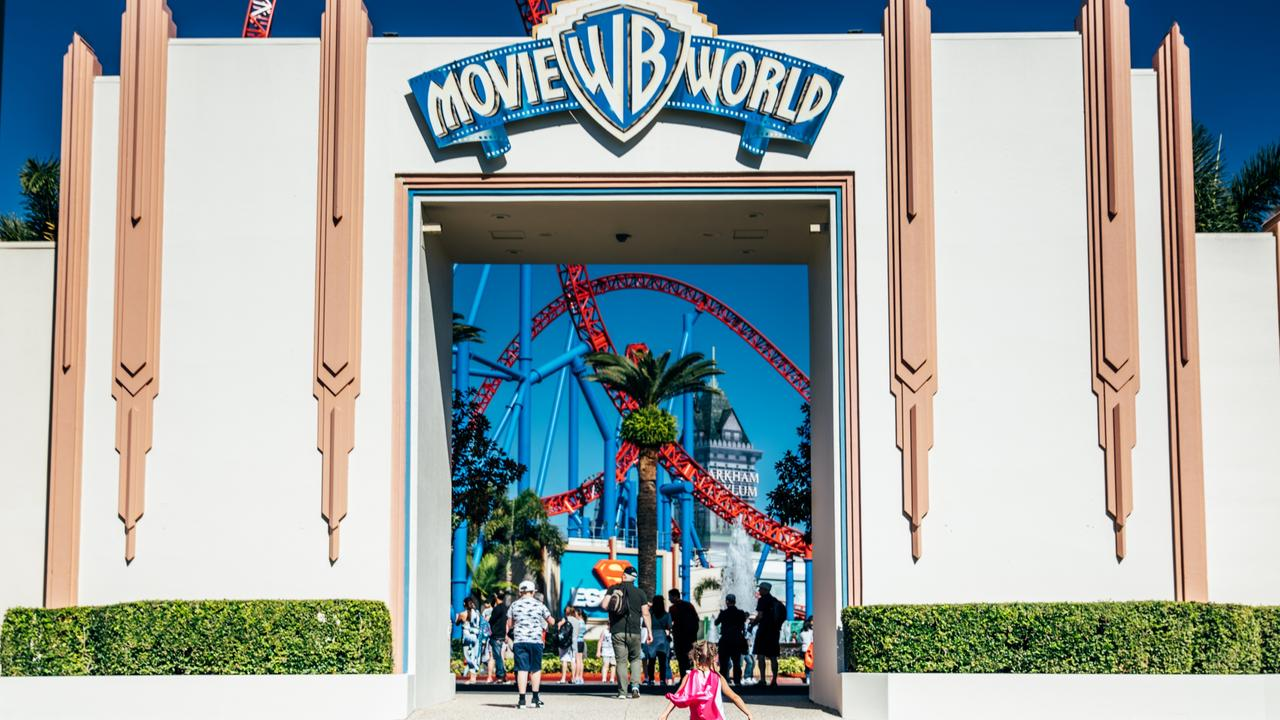 Many Gold Coast theme parks, including Movie World, will reopen on July 15 Picture: Destination Gold Coast