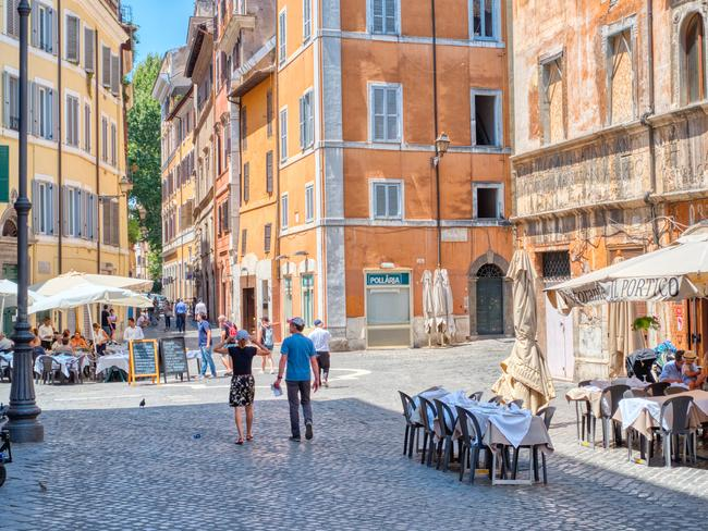 TOURIST TAX In Italy, there's two prices — the locals price and the tourist price. — Bob James