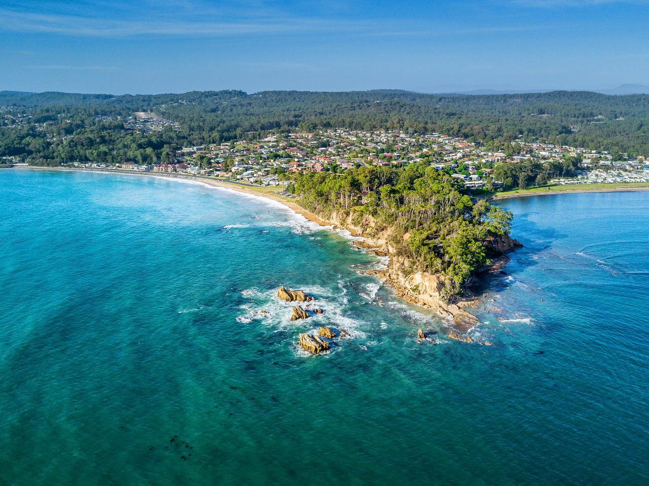 Perhaps it's the year to book a holiday at home and visit somewhere like Batemans Bay.