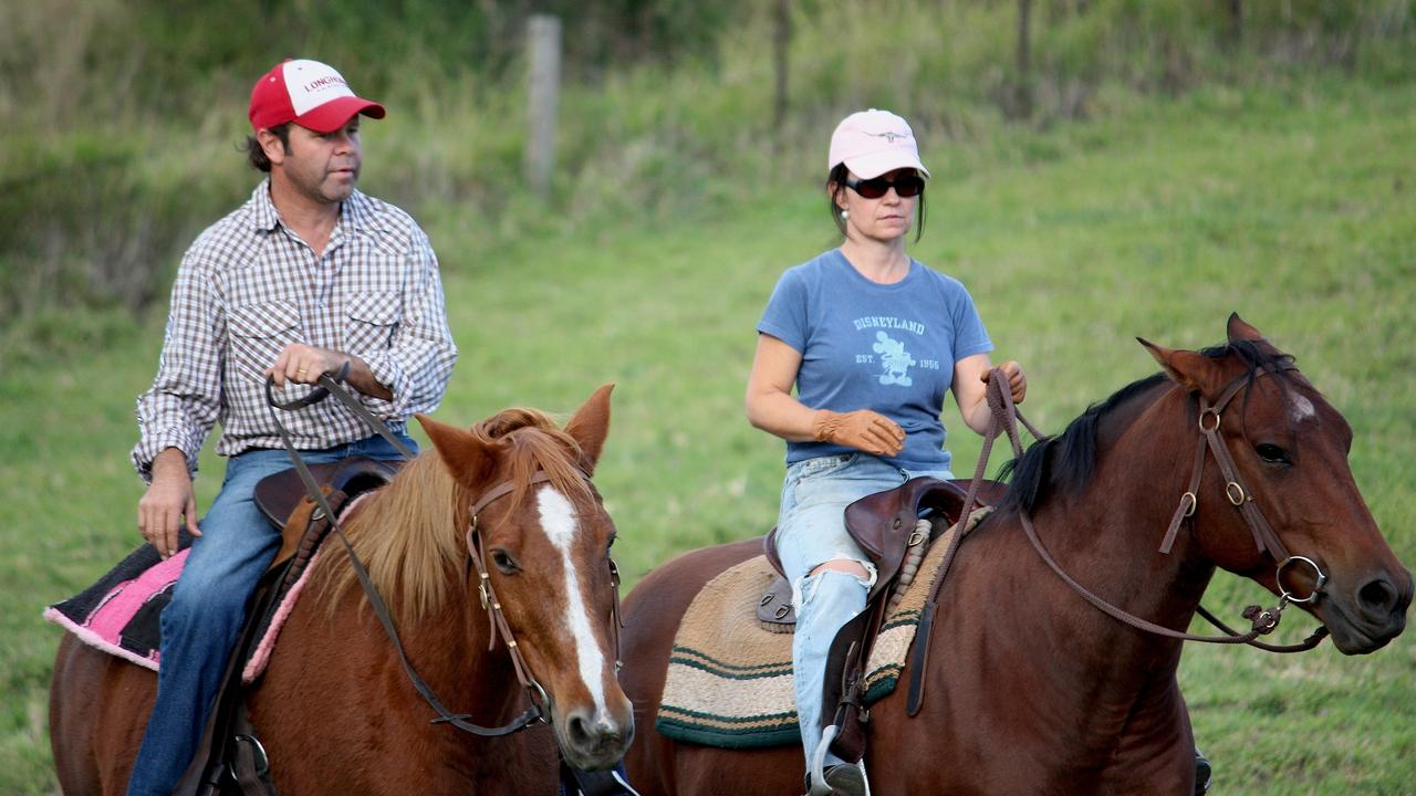 Troy and Laurel brought their kids up on the farm — choosing the simple life over school sports' runs.