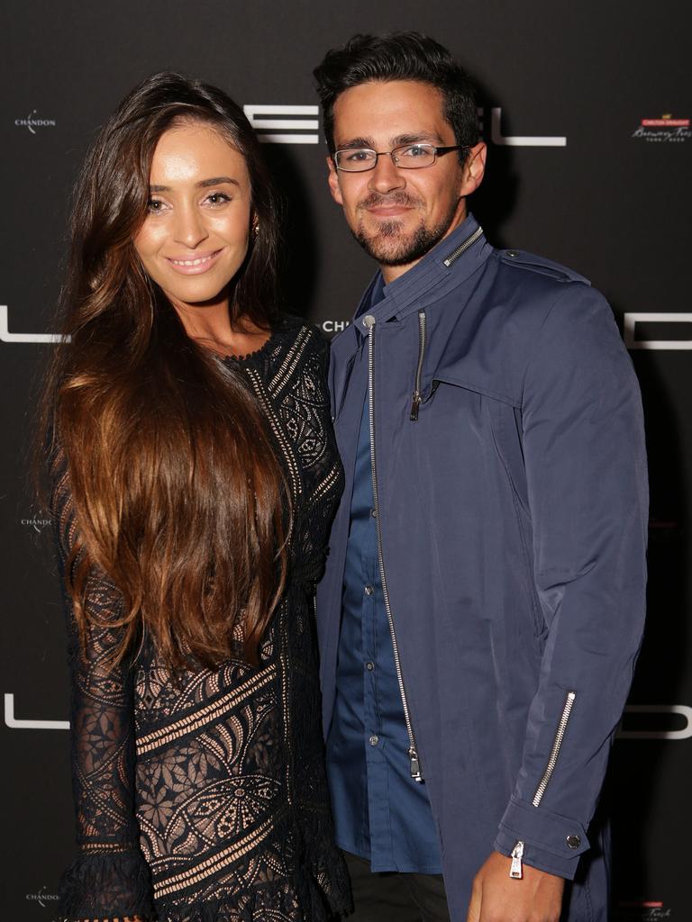 Zana Pali and husband Gianni Romano. Picture: Julie Kiriacoudis