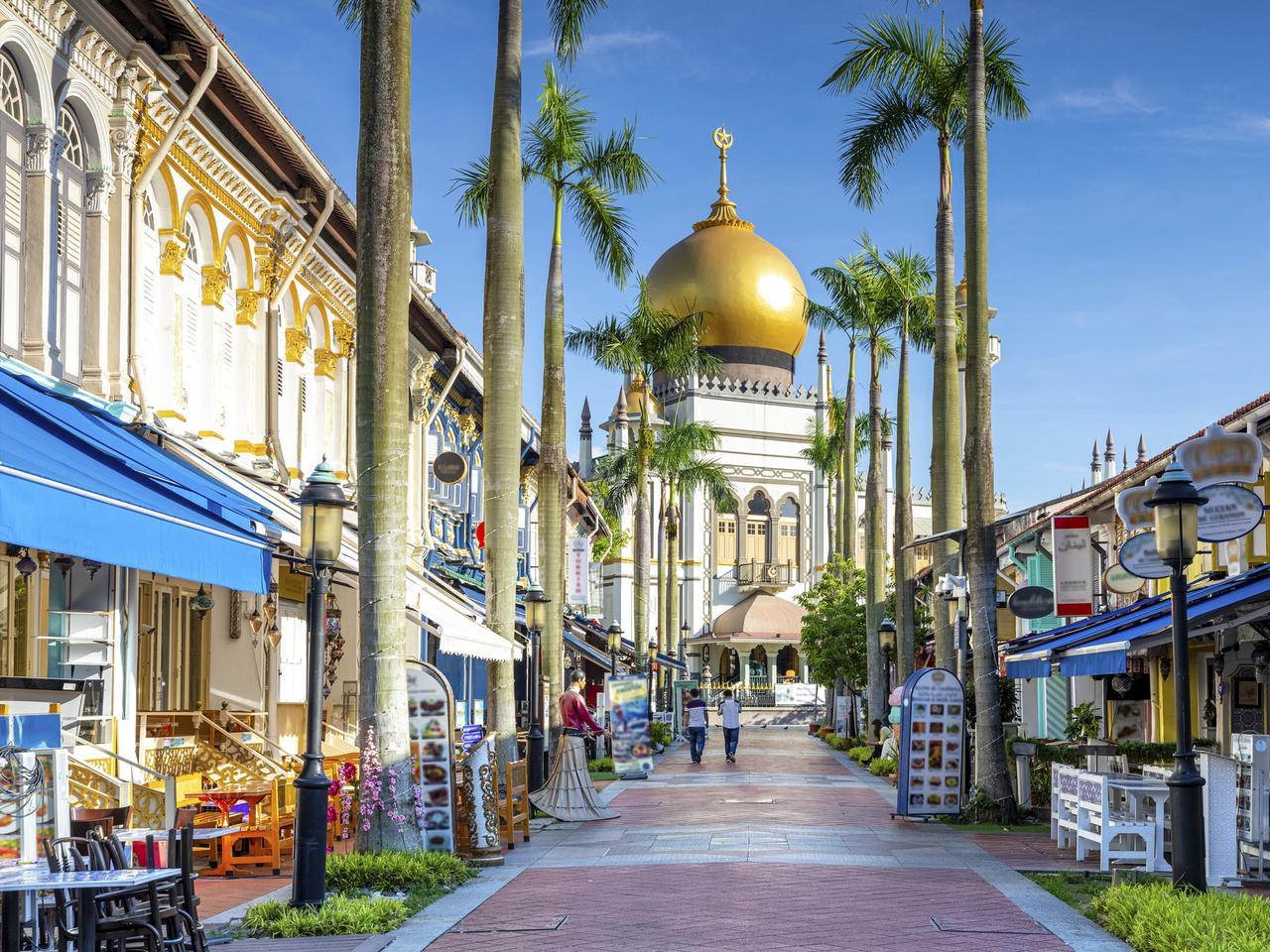 street view of Masjid Sultan