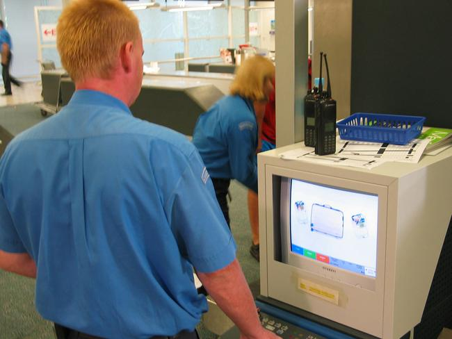 Federal authorities have been unable to prove that passenger security screening at airports is effective — and have suspended a program that used replica handguns to test airport bag scanning. Picture: Thinkstock