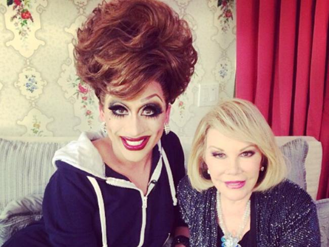Bianca Del Rio and Joan Rivers, a couple of bitches.