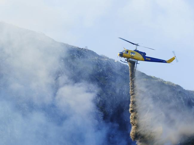 Conditions for severe bushfires in the southern states are also expected to worsen. Picture: Lachie Millard