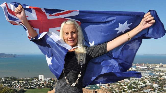 Kim Vuga is the founder of the Love Australia or Leave party.