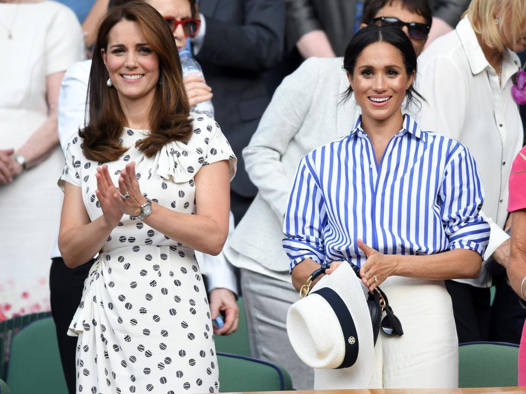 """Meghan attending Wimbledon with the woman she once called 'Princess Kate"""". Picture: Karwai Tang/WireImage"""