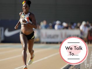 Alysia Montaño is a champion for women in sport. Image: ANDY LYONS/GETTY IMAGES.