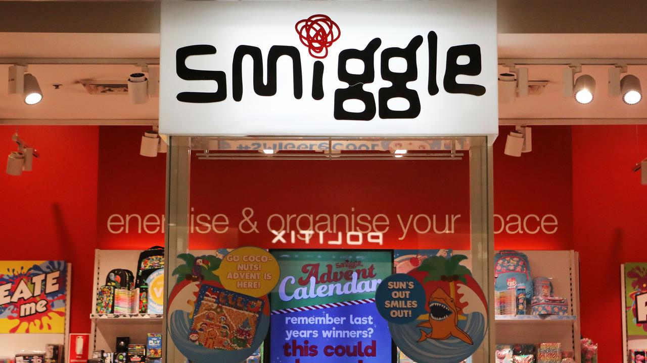 Smiggle is a hugely popular brand with children. Picture: Daniel Munoz/AAP
