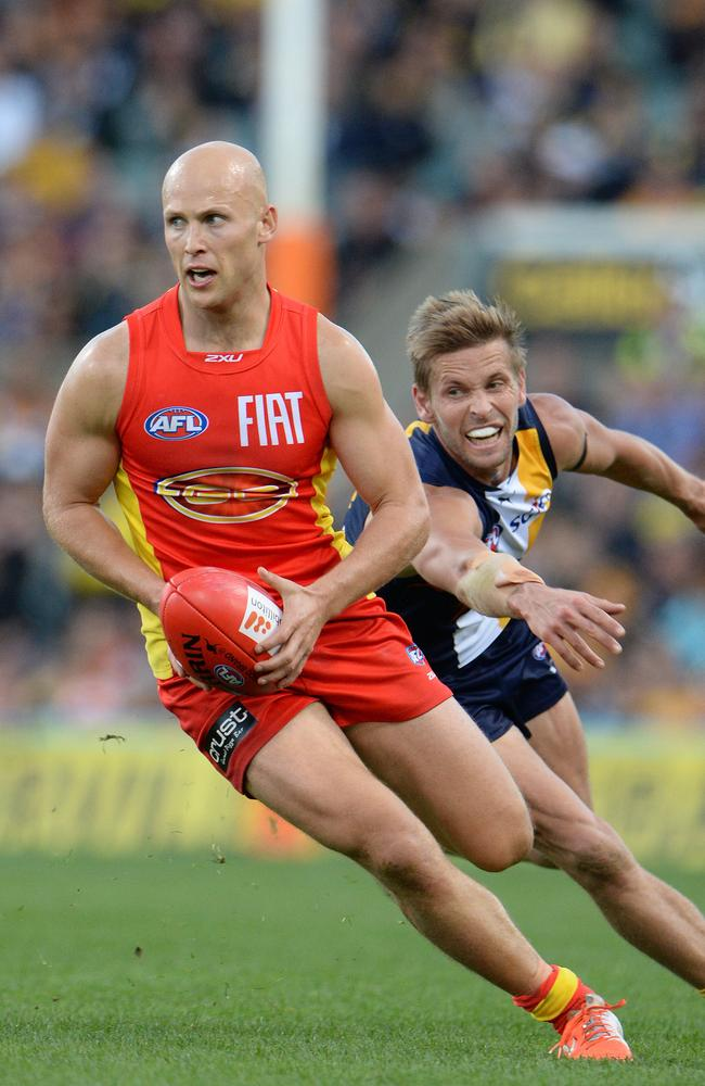 Ablett's Suns are in danger of missing the top eight. Picture: Daniel Wilkins