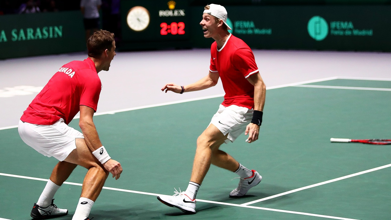 First, they beat Australia. Now, Canada is off to the Davis Cup final