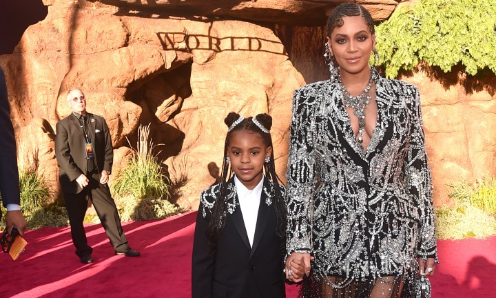 Beyonce's seven-year-old daughter could be up for a Grammy