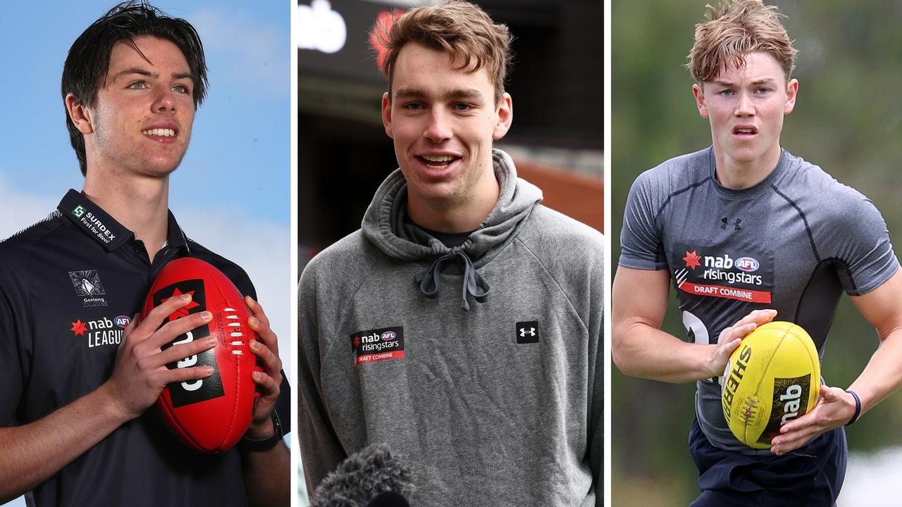 Who are the top 20 prospects in the 2020 AFL Draft, and where will they end up?