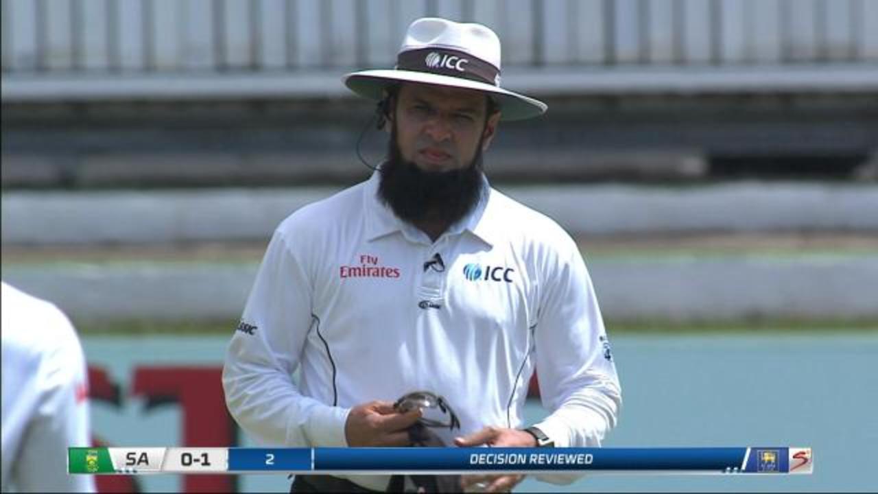 Aleem Dar's DRS shocker costs Sri Lanka Amla's wicket