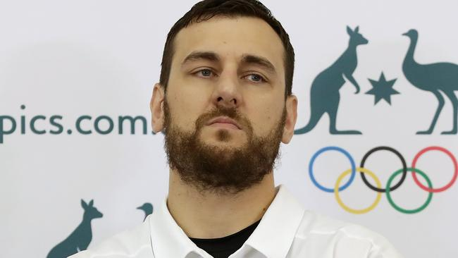 Andrew Bogut is not impressed with the Athletes Village.