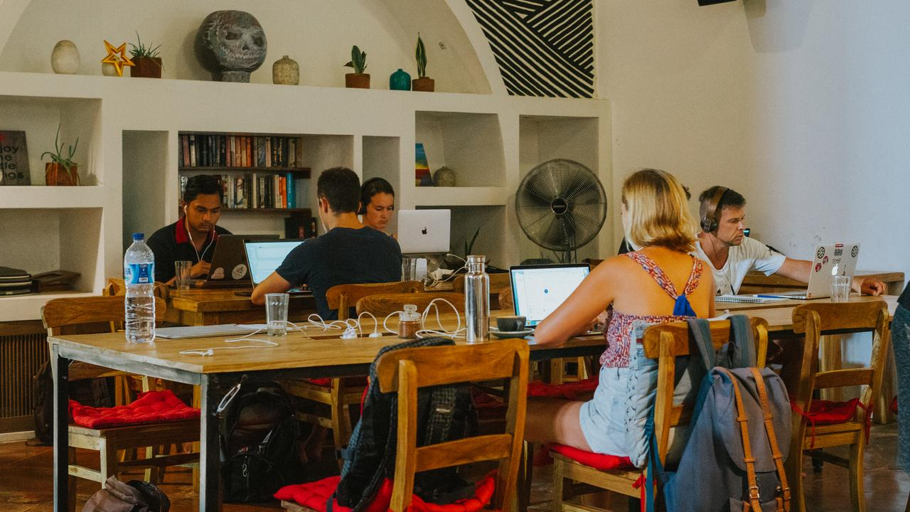 Lonliness has often been a downfall of being a 'digital nomad'. Picture: Dojo Bali.